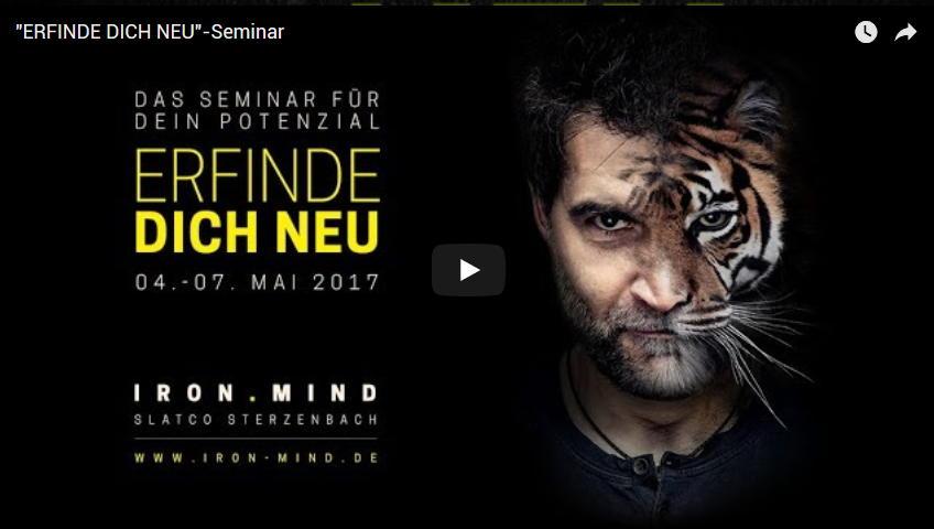 Erfinde dich neu Seminar Trailer Slatco Sterzenbach
