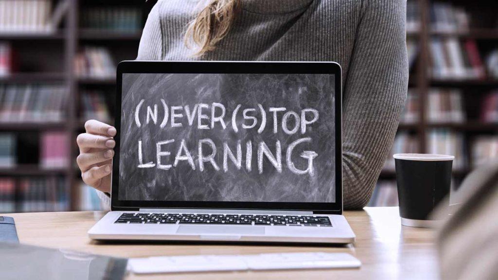 Never stop learning. Lerne wie du selbst Medien gestalten kannst.
